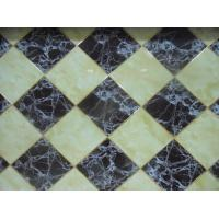 Anti UV Interlocking Decorative PVC Wall Panels Artificial Stone Marble Manufactures