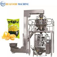 3kw Popcorn Packing Machine / Industrial Food Packaging Equipment 1800*1250*1780mm Manufactures