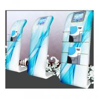 Optional IPad Frame Tension Fabric Banner Stands Fabric Tube Literature Stand Manufactures