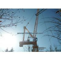 Construction 16 Ton 60M Luffing Jib Tower Crane Boom Length Civil Real Estates Manufactures