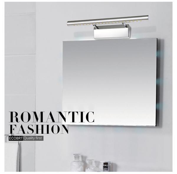 3w silvery modern bathroom mirror light 5530 for sale of for Modern bathroom mirrors for sale
