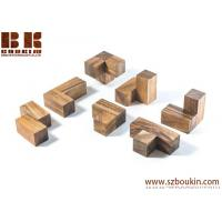 Soma Cube - wooden brain teaser puzzle wood puzzle gift for architect office desk toy Manufactures