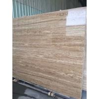 Iran Yellow Roman Beige Travertine 2cm And 3 Cm Travertine Slabs And Tiles With Mesh On Back Manufactures