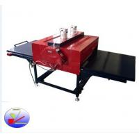 Buy cheap Max width pneumatic double sublimation heat prees machine for coth printing from wholesalers