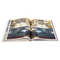 Custom Coloring Photo Coffee Table Hardbound Book spiral bound printing services Manufactures