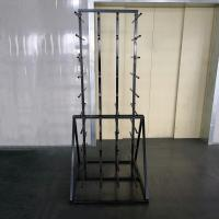 Metal Double Sides Roller 80 Arm Industrial Display Stands For Vinyl Roll Manufactures