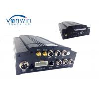 1080P WIFI 3G 4G MDVR / h.264 4 channel dvr recorder cctv 7 inch screen Manufactures