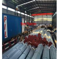 ASTM A53 API 5L  UOE Steel Pipe , Black ERW Carbon Steel Pipe Manufactures