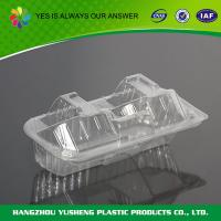 China PS Clear Cupcake Boxes 2 pc , Clear Single Cupcake Boxes on sale