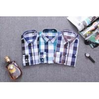 Burberry long shirts men plaid shirts brand shirts designed clothing Manufactures