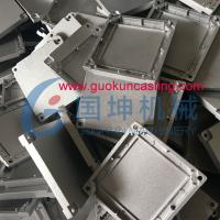 China Aluminum Die Casting electronic parts in ADC10, ADC12, A380 or aluminum alloy casted parts on sale