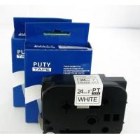 Buy cheap Brother label tapes 24mm Black on White label tape PT-S251 from wholesalers