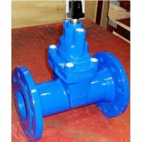 6 Inch Water Flange Type Ductile Iron Material Brass Stem Nut BS Non-Rising Stem Resilient Seated Gate Valve Manufactures