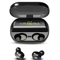 China Bluetooth 5.0 TWS Noise Cancelling Wireless Earbuds Mini Headset 4H Playtime 3D Stereo Sound Sport on sale