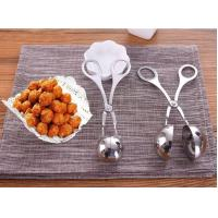 Buy cheap Stainless Steel Meatballs Maker DIY do fish balls tools Spoon kitchen shrimp balls mold digging ball Spoon from wholesalers