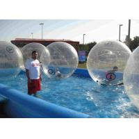China Logo Printed Giant Bubble Ball Environmental Friendy In Water Game Playing on sale