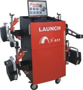 LAUNCH X-631+ Wheel Alignment Machine 6M Wheel Base For Passenger Cars / Light Trucks Manufactures