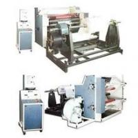 Professional Auto Laminator Machine , Plastic Film Slitting Rewinding Machine Manufactures