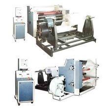 Professional Auto Laminator Machine , Plastic Film Slitting Rewinding Machine Manufactures