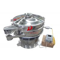 Quartz Mineral Ultrasonic Vibrating Screen With Stainless Steel 304 Manufactures