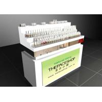 Quality Contemporary Style Makeup Counter Display / Cosmetic Display Showcase With Locks for sale