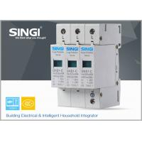 IEC Standards Lightning surge protector SPD , transient voltage surge suppressor TVSS Manufactures