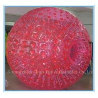 Buy cheap 2.8m Red Inflatable Zorb Ball Hot Air Sealed For Ramp / Grass Land / Hills(CY-M2710) from wholesalers