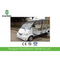4kW DC Motor Electric Shuttle Bus With Superior Cushioning Capacity for 8 Person Manufactures