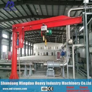 Workshop Indoor Using 1 ton 2 ton 3 ton 5 ton Pillar Mounted Jib Crane Manufactures