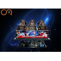 Exciting Roller Coaster 5D Cinema Equipment With Special Effects , 1 Year Guarantee Manufactures