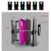 Mobile phone case: upper cover and lower cover+leather wrapped+silicone+holster cover Manufactures
