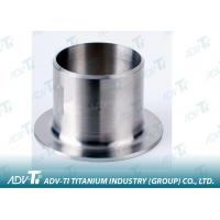 ASTM B363 / ASME B16.9 Titanium Pipe Fittings NPS Size Or Customized Stub Ends Manufactures