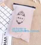 Apparel Garment Clothing package PE slider zip bag, zipper ziplock packaging bags with slider zipper,pvc packaging bags Manufactures