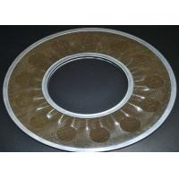 China Brass Wire Mesh Filter Disc Supporting For Filtering , 20-200 Micron on sale