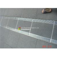 316 / 304 Stainless Steel Bar Grating High Bearing For Trench Cover Manufactures