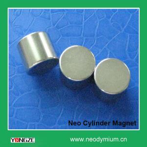 Neodymium Cylinder Magnet N38 Manufactures