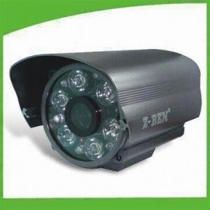 China 700TVL Long-range IR Weatherproof Cameras with 12V DC Power Supply and 80m IR Distance on sale