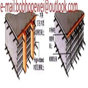 China Material Galvanized Hy Rib Formwork Mesh/High Rib Mesh/high ribbed formwork for concrete wall on sale