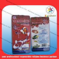 Plastic Fish Food Bag Recyclable Standup With Beautiful Printing Manufactures