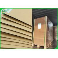 China 300g 350g 400g Virgin Brown Kraft Board With 787mm 889mm 1092mm on sale