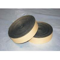 Quality One Side Adhesive Rubber Foam Tape Closed Cell Black Insulation Sealing Roll 5mm for sale