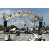 Professional 6082- T6 Aluminum Square Truss With Curved Tent Series Manufactures