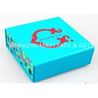 China Waterproof Rigid Foldable Gift Boxes Rectangle Jewelry Packing Anniversary Biodegradable on sale