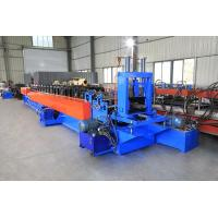 0.6-1.2mm Thickness Stud And Track Roll Forming Machine Optional Punch Hole Manufactures