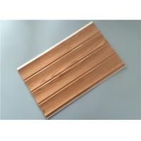 Customized Decorative PVC Panels With Four Grooves Fire Proof 8 Mm Thickness Manufactures