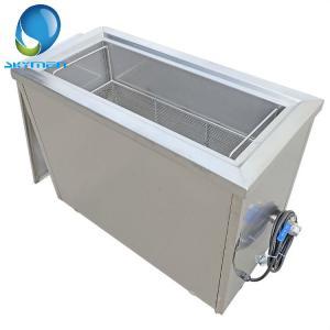 100 Liter Tube Filter 40khz Ultrasonic Pipe Cleaner Oil Rust Removing / Degreasing Manufactures