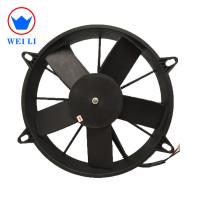 Air Conditioner Condenser Cooling Radiator Fan with Brushes DC Motor Manufactures