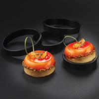 Round Aluminum Cake Mould , Personalized Cake Pans Exoglass 2 3/4 X 11/16 Tartlet Ring Manufactures