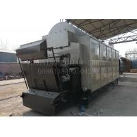 Horizontal Chain Grate Coal Fired Steam Boiler Low Fuel Consuming SGS Approved Manufactures