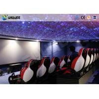 30 People Motion Chairs XD Theatre With Cinema Simulator System / Special Effect Manufactures
